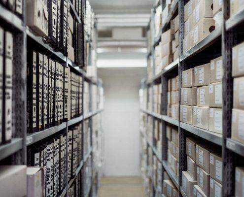IT Dokumentation wie dieses Archiv mit Ordern