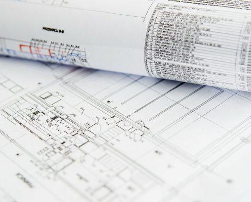 IT Planung wie diese Baupläne für Räume